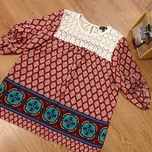 Boho Max and Riley Top